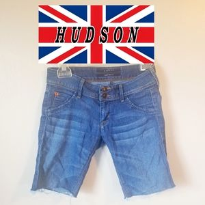 Hudson Cut off above knee shorts size 25